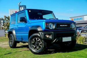 2020 Suzuki Jimny JB74 Blue 5 Speed Manual Hardtop