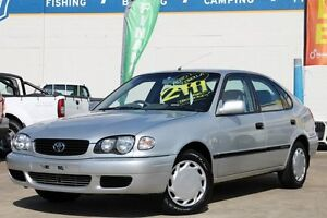 2000 Toyota Corolla AE112R Ascent Seca Silver 4 Speed Automatic Liftback Greenslopes Brisbane South West Preview