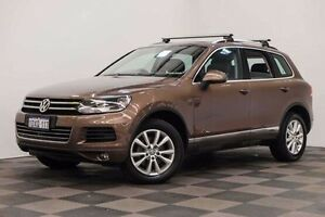 2011 Volkswagen Touareg 7P MY12 V6 TDI Tiptronic 4MOTION Bronze 8 Speed Sports Automatic Wagon Edgewater Joondalup Area Preview