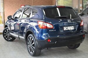 2012 Nissan Dualis J10 Series 3 TI-L (4x2) Blue 6 Speed CVT Auto Sequential Wagon Roseville Ku-ring-gai Area Preview
