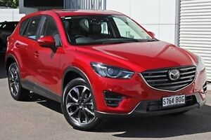 2016 Mazda CX-5 KE1022 Akera SKYACTIV-Drive i-ACTIV AWD Soul Red 6 Speed Sports Automatic Wagon West Hindmarsh Charles Sturt Area Preview