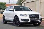 2009 Audi Q5 8R MY10 TDI S tronic quattro White 7 Speed Sports Automatic Dual Clutch Wagon Glenelg Holdfast Bay Preview