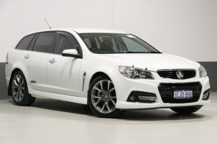 2013 Holden Commodore VF SS-V White 6 Speed Automatic Sportswagon Bentley Canning Area Preview