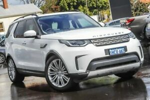 2017 Land Rover Discovery Series 5 L462 MY17 TD6 HSE Luxury White 8 Speed Sports Automatic Wagon Bayswater Bayswater Area Preview
