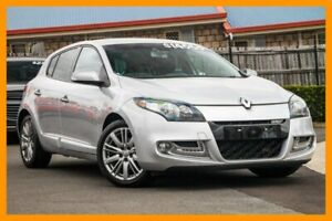 2013 Renault Megane III B95 MY13 GT-Line Silver 6 Speed Constant Variable Hatchback Hillcrest Logan Area Preview