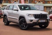 2011 Jeep Grand Cherokee WK MY2011 Laredo Silver 5 Speed Sports Automatic Wagon Mindarie Wanneroo Area Preview