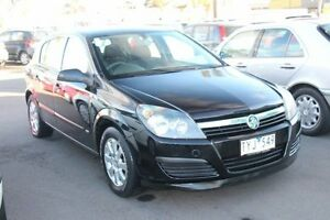 2005 Holden Astra AH MY05 CD Black 5 Speed Manual Hatchback Heatherton Kingston Area Preview