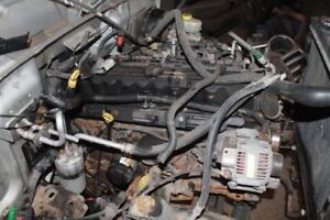 Ideal Parts Engine Removed From 2005 Jeep TJ