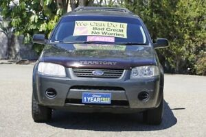 2007 Ford Territory SY Ghia AWD Grey 6 Speed Sports Automatic Wagon