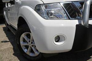 2014 Nissan Navara D40 MY12 ST (4x4) White 5 Speed Automatic Dual Cab Pick-up Mosman Mosman Area Preview