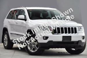 2012 Jeep Grand Cherokee WK MY2012 Laredo White 5 Speed Sports Automatic Wagon Rockingham Rockingham Area Preview