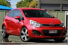 2013 Kia Rio UB MY13 SLS Red 6 Speed Sports Automatic Hatchback Lawnton Pine Rivers Area Preview