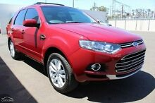 2014 Ford Territory SZ TS Seq Sport Shift Red 6 Speed Sports Automatic Wagon Moonah Glenorchy Area Preview