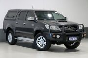 2015 Toyota Hilux KUN26R MY14 SR5 (4x4) Grey 5 Speed Automatic Dual Cab Pick-up Bentley Canning Area Preview