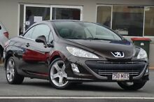 2009 Peugeot 308 T7 CC Brown 4 Speed Sports Automatic Convertible Tweed Heads South Tweed Heads Area Preview