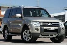 2006 Mitsubishi Pajero NS Exceed LWB (4x4) Gold 5 Speed Auto Sports Mode Wagon Waitara Hornsby Area Preview