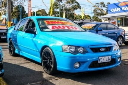 2005 Ford Falcon BF XR6 Blue 4 Speed Sports Automatic Sedan Ringwood East Maroondah Area Preview