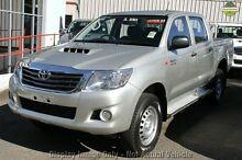 2013 Toyota Hilux KUN26R MY14 SR Double Cab Blue 5 Speed Automatic Utility Hillcrest Logan Area Preview