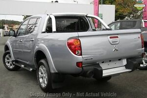 2013 Mitsubishi Triton MN MY13 GLX-R Double Cab Silver 5 Speed Sports Automatic Utility Cannington Canning Area Preview