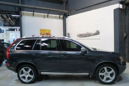 2014 Volvo XC90 P28 MY14 R-Design Geartronic Grey 6 Speed Sports Automatic Wagon Port Melbourne Port Phillip Preview