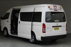 2016 Toyota Hiace French Vanilla Passenger Bus