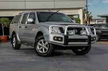 2012 Nissan Navara D40 S5 MY12 ST-X 550 Silver 7 Speed Sports Automatic Utility Yeerongpilly Brisbane South West Preview