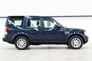 2012 Land Rover Discovery 4 Series 4 MY12 TdV6 CommandShift Blue 6 Speed Sports Automatic Wagon Seven Hills Blacktown Area Preview