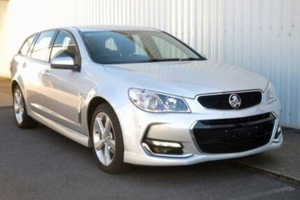 2016 Holden Commodore VF II MY16 SV6 Sportwagon Silver 6 Speed Sports Automatic Wagon Port Adelaide Port Adelaide Area Preview