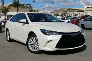 2015 Toyota Camry AVV50R Atara SL Crystal Pearl 1 Speed Constant Variable Sedan Northbridge Perth City Area Preview