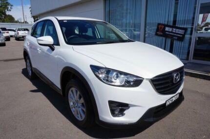 2016 Mazda CX-5 KE1072 Maxx SKYACTIV-Drive Sport White 6 Speed Sports Automatic Wagon Cardiff Lake Macquarie Area Preview