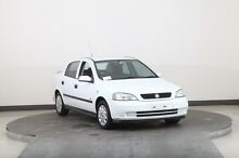2001 Holden Astra TS City White 4 Speed Automatic Hatchback Smithfield Parramatta Area Preview