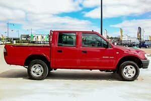 2001 Holden Rodeo TF R9 LX Crew Cab Red 4 Speed Automatic Utility Pakenham Cardinia Area Preview