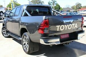 2015 Toyota Hilux GUN126R SR5 (4x4) Graphite 6 Speed Automatic Dual Cab Utility Old Guildford Fairfield Area Preview