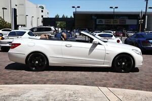 2010 Mercedes-Benz E250 CGI A207 Avantgarde White 5 Speed Sports Automatic Cabriolet Osborne Park Stirling Area Preview
