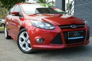 2015 Ford Focus LW MkII MY14 Sport PwrShift Red 6 Speed Sports Automatic Dual Clutch Hatchback Ashmore Gold Coast City Preview