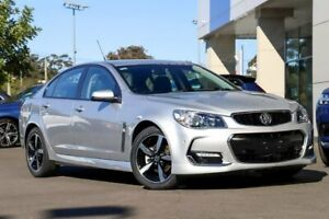 2017 Holden Commodore VF II MY17 SV6 Silver 6 Speed Sports Automatic Sedan Kirrawee Sutherland Area Preview