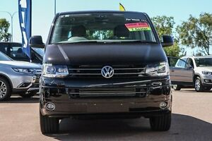 2016 Volkswagen Multivan T6 MY16 TDI450 SWB DSG Highline Black 7 Speed Sports Automatic Dual Clutch Wilson Canning Area Preview