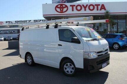 2012 Toyota Hiace TRH201R MY12 Upgrade LWB French Vanilla 5 Speed Manual Van Hillman Rockingham Area Preview