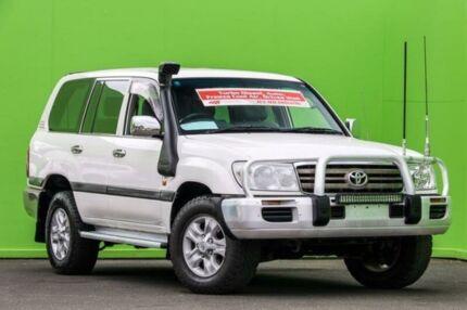 2006 Toyota Landcruiser HDJ100R GXL White 5 Speed Automatic Wagon Ringwood East Maroondah Area Preview