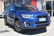 2016 Mitsubishi ASX XB MY15.5 LS 2WD Blue 6 Speed Constant Variable Wagon Hoppers Crossing Wyndham Area Preview