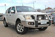 2012 Nissan Navara D40 S5 MY12 ST-X 550 White 7 Speed Sports Automatic Utility Victoria Park Victoria Park Area Preview