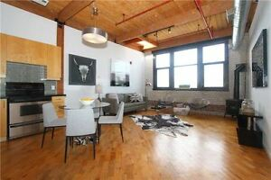 Bloor West Penthouse Post And Beam Hard Loft