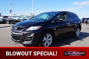 2010 Mazda CX-7 GT ALL WHEEL DRIVE Leather,  Heated Seats,  Sunr