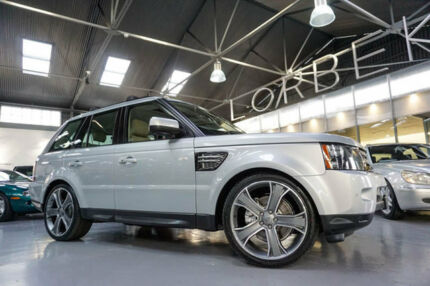 2012 Land Rover Range Rover MY12 Sport 3.0 SDV6 Luxury Silver 6 Speed Automatic Wagon