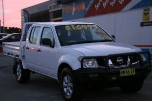 2011 Nissan Navara D40 MY11 RX (4x4) White 6 Speed Manual Dual Cab Pick-up Fyshwick South Canberra Preview
