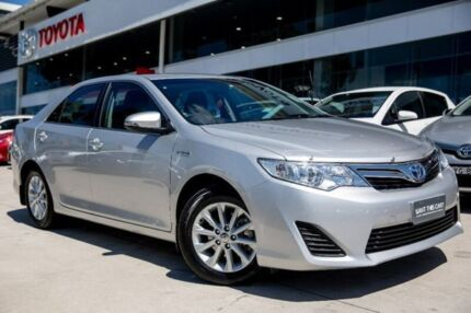 2014 Toyota Camry AVV50R Hybrid H Silver 1 Speed Constant Variable Sedan Hybrid Castle Hill The Hills District Preview