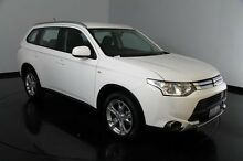 2015 Mitsubishi Outlander ZJ MY14.5 ES 2WD White 6 Speed Constant Variable Wagon Welshpool Canning Area Preview