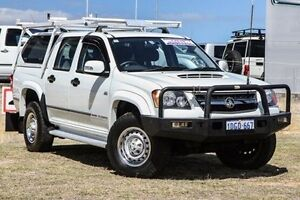 2010 Holden Colorado RC MY10 LX Crew Cab White 5 Speed Manual Utility Bibra Lake Cockburn Area Preview