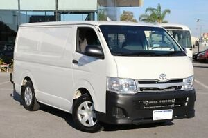 2014 Toyota Hiace White Automatic Van St James Victoria Park Area Preview