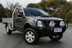 2011 Isuzu D-MAX TF MY10 SX (4x4) Grey 5 Speed Manual Cab Chassis Hillman Rockingham Area Preview